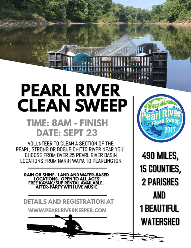 Pearl River Clean Sweep @ Old Trace Park | Ridgeland | Mississippi | United States